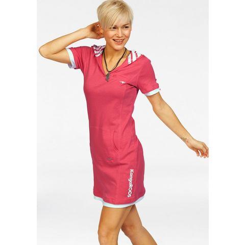 Picture KANGAROOS Sweat-jurk met capuchon roze 629527