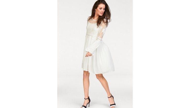 Aniston CASUAL kanten jurk (set, 2-delig)
