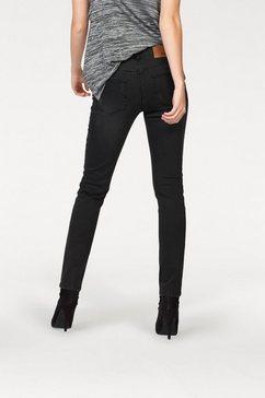 Skinny-jeans met iets verlaagde taille