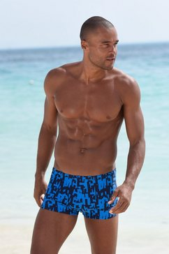 chiemsee zwemboxer met koordje binnenin blauw