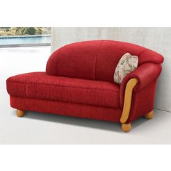 home affaire chaise longue »milano« rood