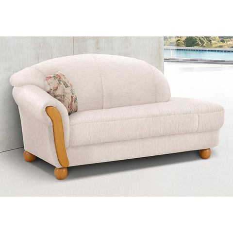 woonkamer driepersoons bankstel beige chenille HOME AFFAIRE chaise longue Milano