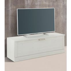 home affaire tv-meubel klein »santorin«, breedte 120 cm wit