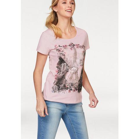 NU 20% KORTING: CHEER T-shirt met Paris-opschrift