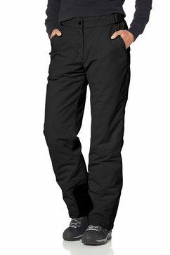 maier sports skibroek met verstelbare bandwijdte zwart