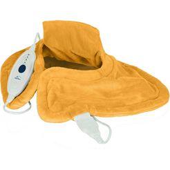 hydas verwarmingskussen lichaamscontact-verwarmingskussen geniet van heerlijke warmte dankzij innovatieve vulling! geel