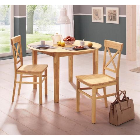 Eetkamerstoelen HOME AFFAIRE Stoel Tatra in set van 2 547310