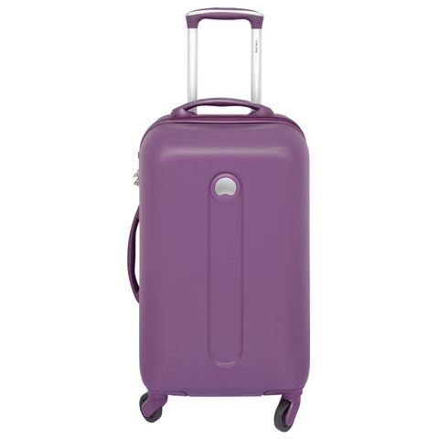 Delsey Helium Classic 71cm 4 Wheel Trolley Case Paars