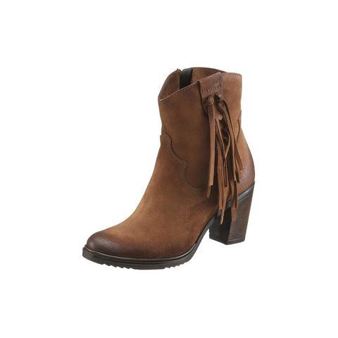 Dames schoen: ARIZONA cowboylaarsjes