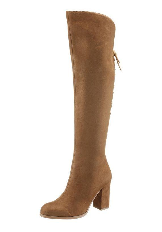BUFFALO overknee-laarzen