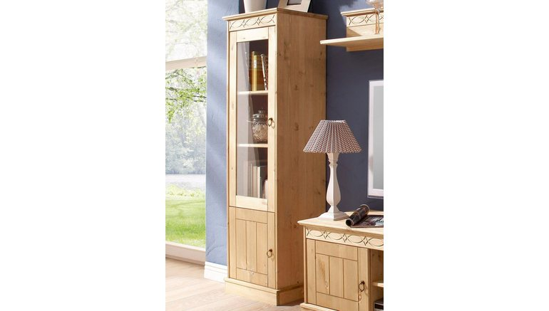 home affaire vitrinekast indra 1 deurs hoogte 145 cm online kopen otto. Black Bedroom Furniture Sets. Home Design Ideas