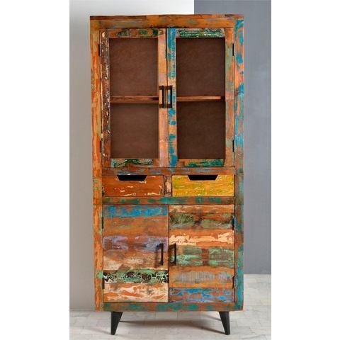 Kasten  vitrinekasten SIT vitrinekast Miami 85 cm breed 588558