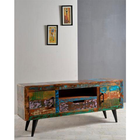 SIT lowboard Miami 140 cm breed multicolour gelakt TV-kast 184
