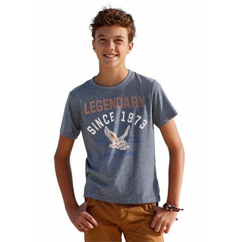 ARIZONA T-shirt met grote print op de voorkant