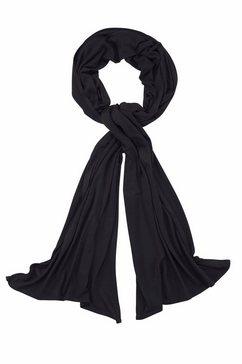 j.jayz modieuze sjaal jerseygordijn van zacht materiaal, 4seasons allrounder zwart