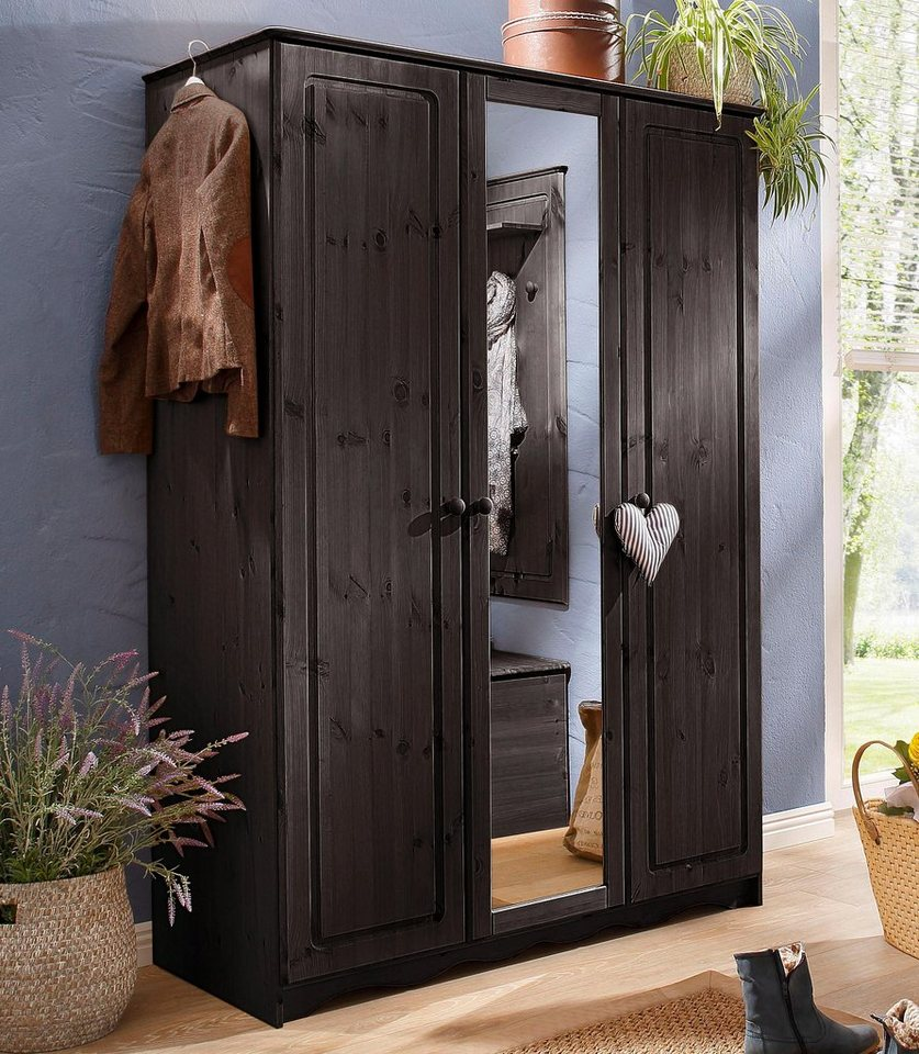 HOME AFFAIRE garderobekast »Emden«, met spiegel