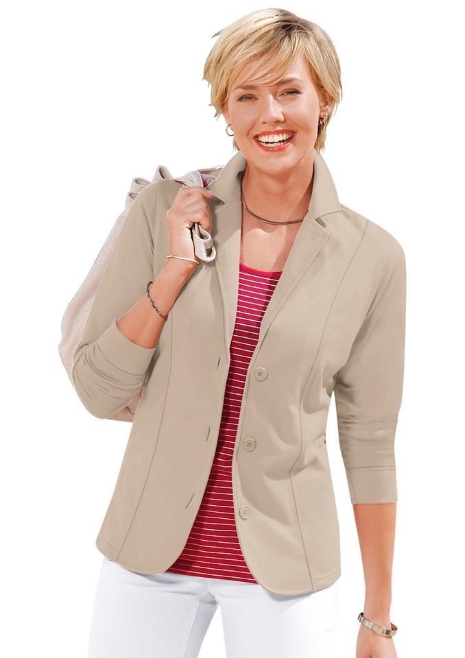 Casual Looks jerseyblazer in comfortabele en gemakkelijk te onderhouden kwaliteit - verschillende betaalmethodes