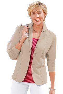 Jersey-blazer met reverskraag
