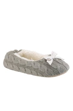 city walk pantoffels grijs