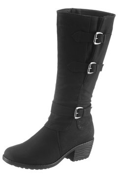 city walk laarzen zwart