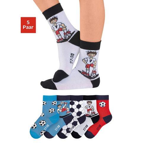 H.I.S Kinder-sokken in set van 5 paar