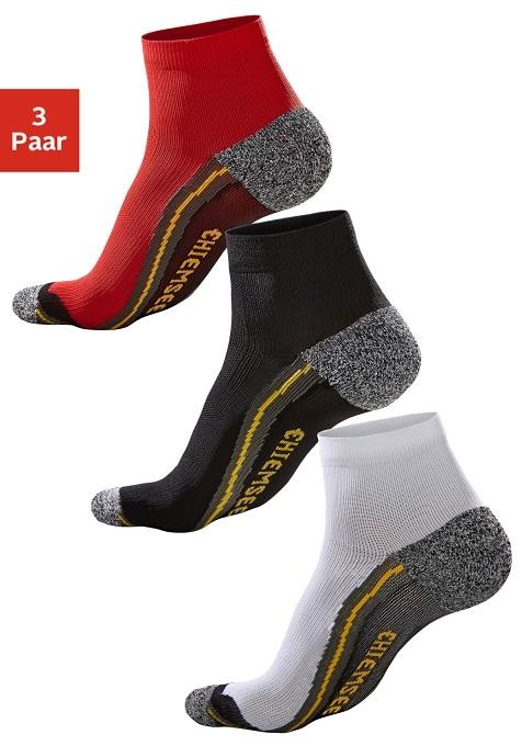 CHIEMSEE Korte hiking-sokken in set van 3 paar bij OTTO online kopen