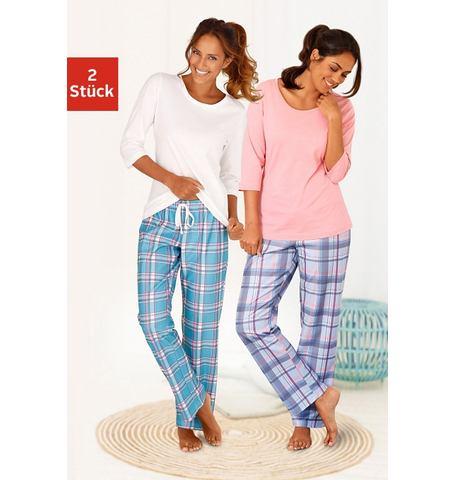 ARIZONA Pyjama van puur katoen in 2-delige set