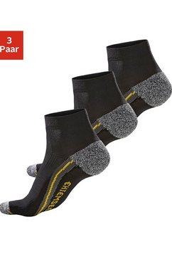 chiemsee wandelsokken met comfortboord (3 paar) zwart