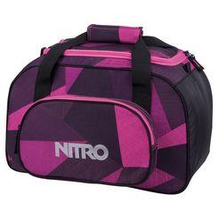 nitro reistas, »duffle bag xs- fragments purple« paars