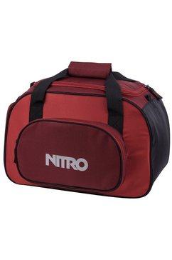 nitro reistas, »duffle bag xs- chili« rood