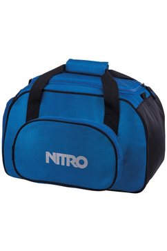 nitro reistas, »duffle bag xs- blur brilliant blue« blauw