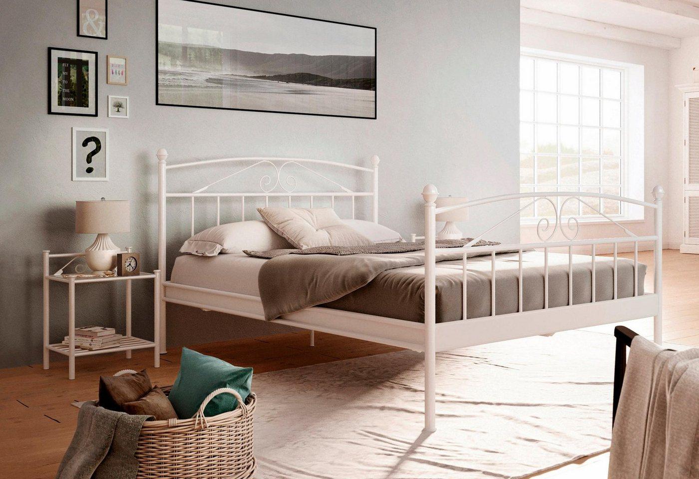 HOME AFFAIRE metalen Bed Birgit