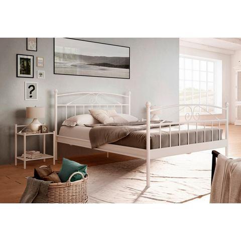 HOME AFFAIRE metalen Bed »Birgit« wit Home Affaire 480397