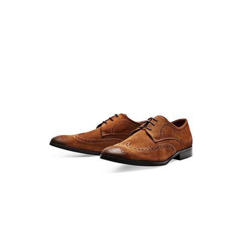 Heren schoen: Jack & Jones Suède Brogue schoenen
