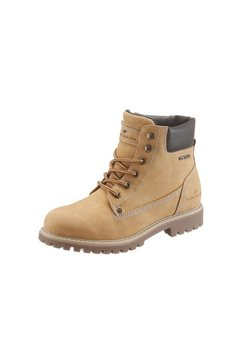 Hoge veterschoenen in worker-look