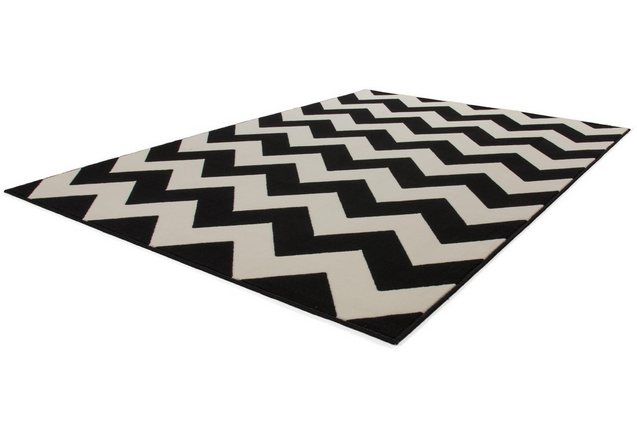 Vloerkleed, KAYOOM, »Manolya 2095«, zigzagmotief, geweven