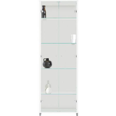 Kasten  vitrinekasten Vitrinekast 2-deurs met 4 glasplateaus 328227