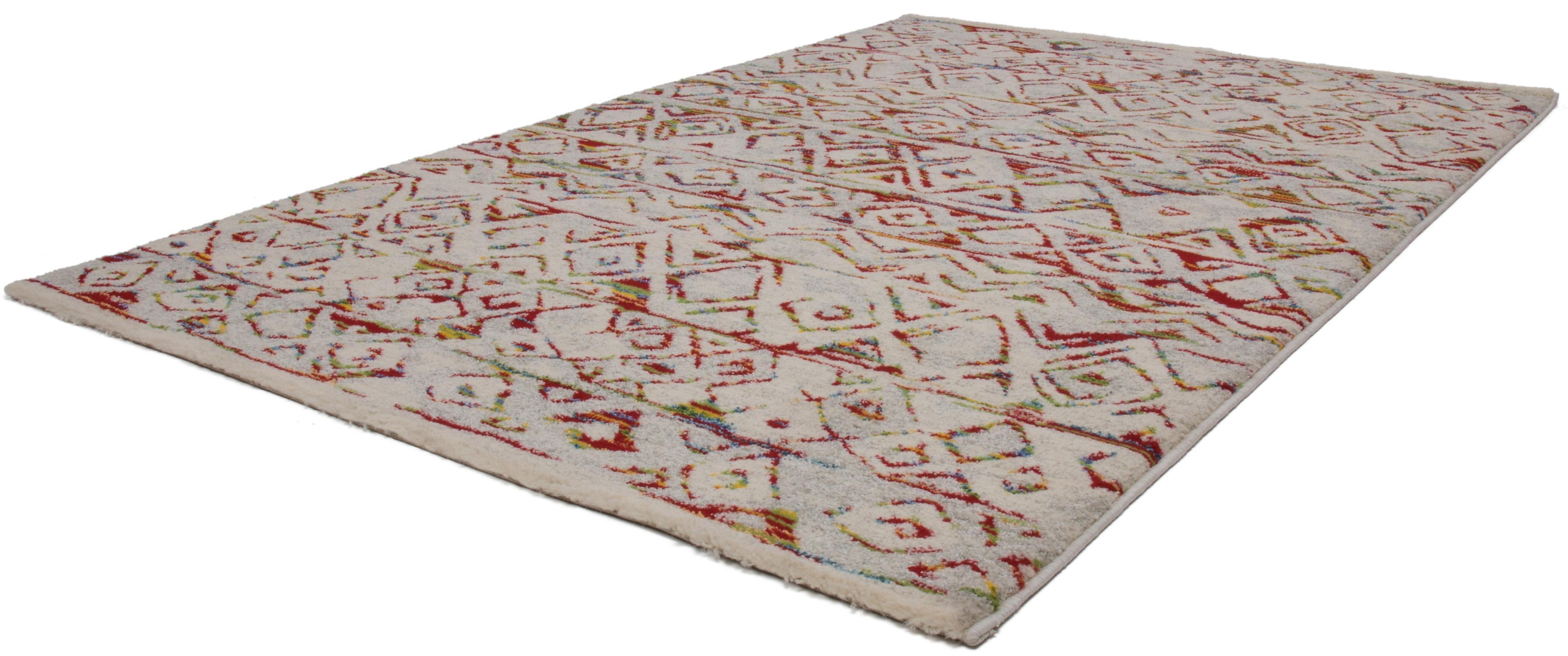 Kayoom Hoogpolig vloerkleed, »Jupiter 411«, hoogte 25 mm, geweven in de webshop van OTTO kopen