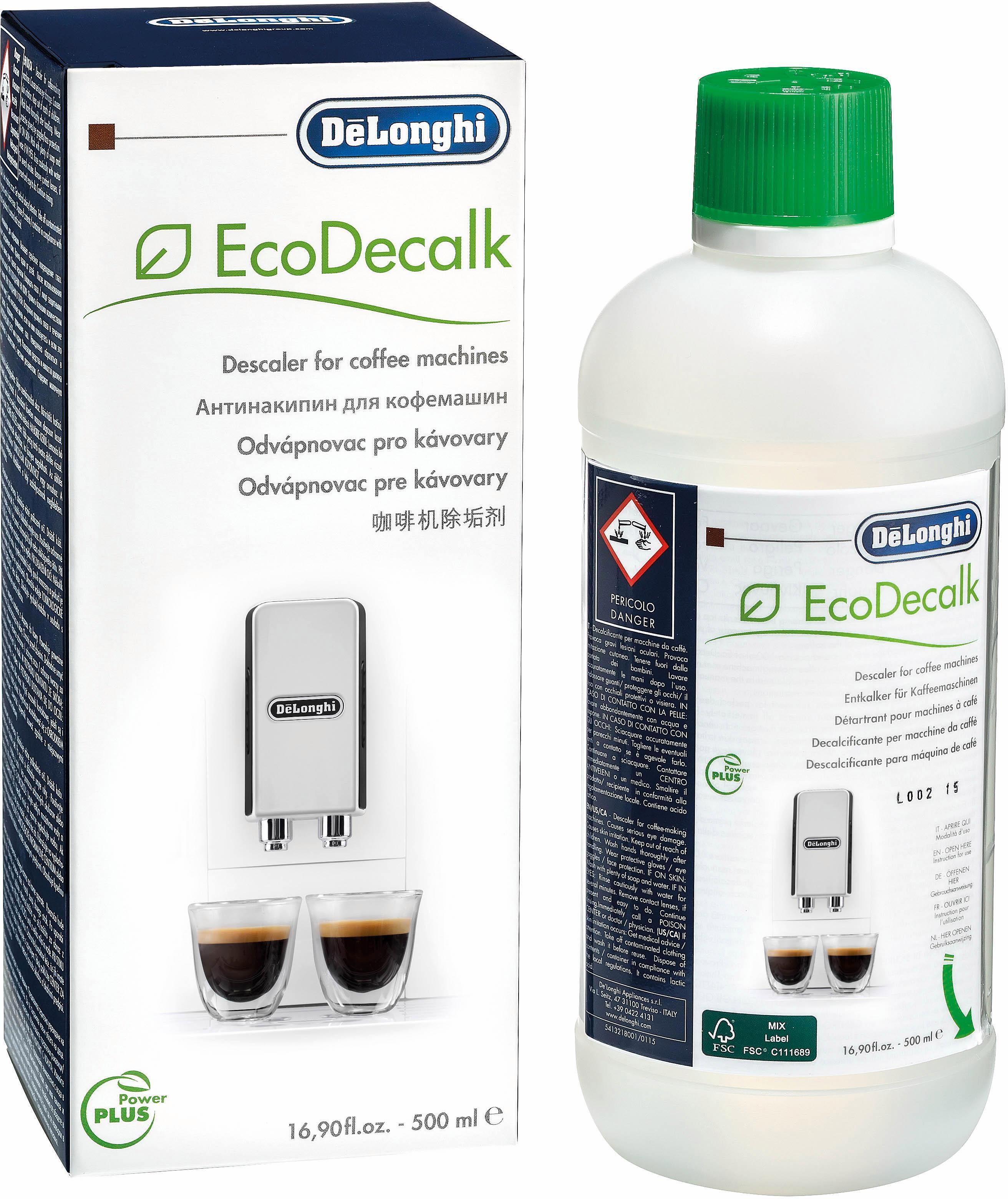 De'Longhi ontkalker SER3018 EcoDecalk, Kalkverwijderaar voor volautomatisch koffiezetapparaat en espressomachine bij OTTO online kopen