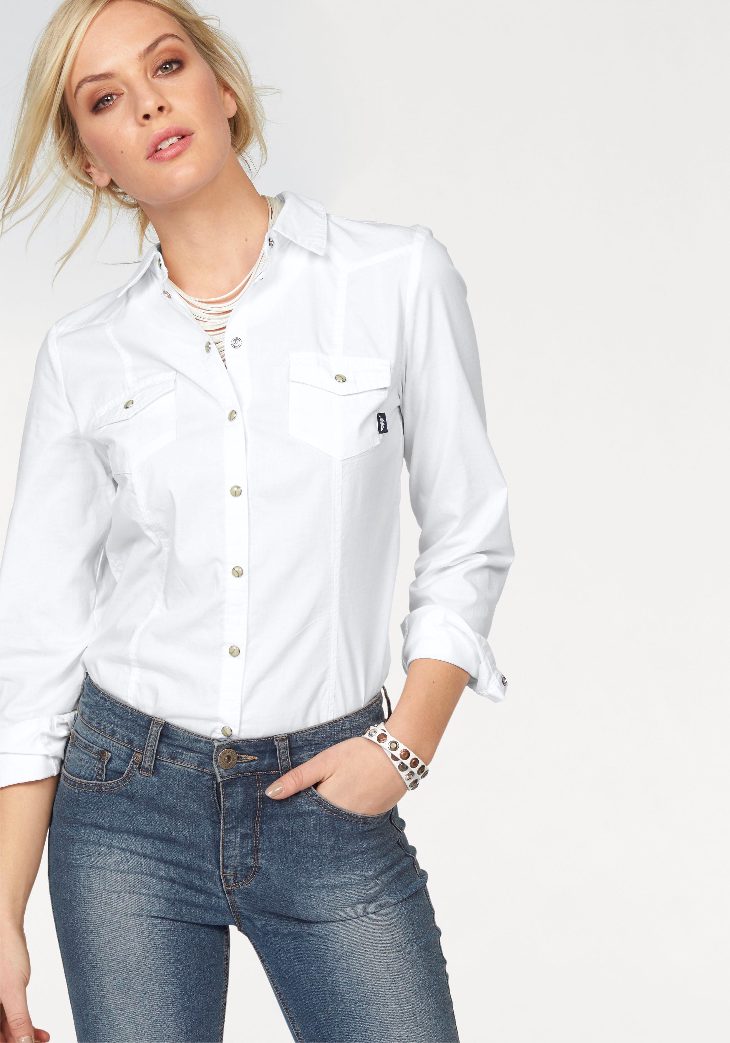 Kopen Online Trendkleuren Arizona In Jeansoverhemd tsQdrCh