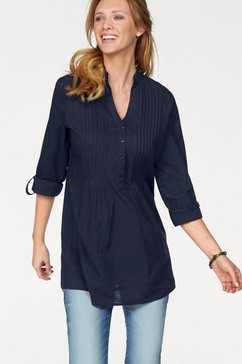 aniston casual lange blouse blauw