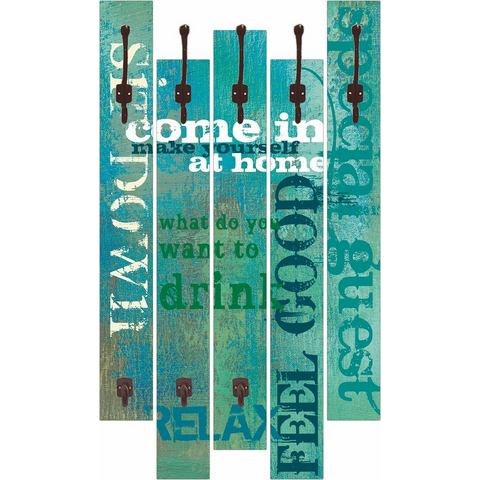 HOME AFFAIRE kapstok W. L.: Come in, 68x114 cm