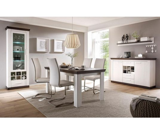 home affaire vitrinekast siena hoogte 201 cm nu online bestellen otto. Black Bedroom Furniture Sets. Home Design Ideas