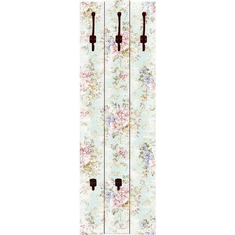 HOME AFFAIRE kapstok, tanginuk1205: Bloemen met naadloos motief op de achtergrond, 45x140 cm