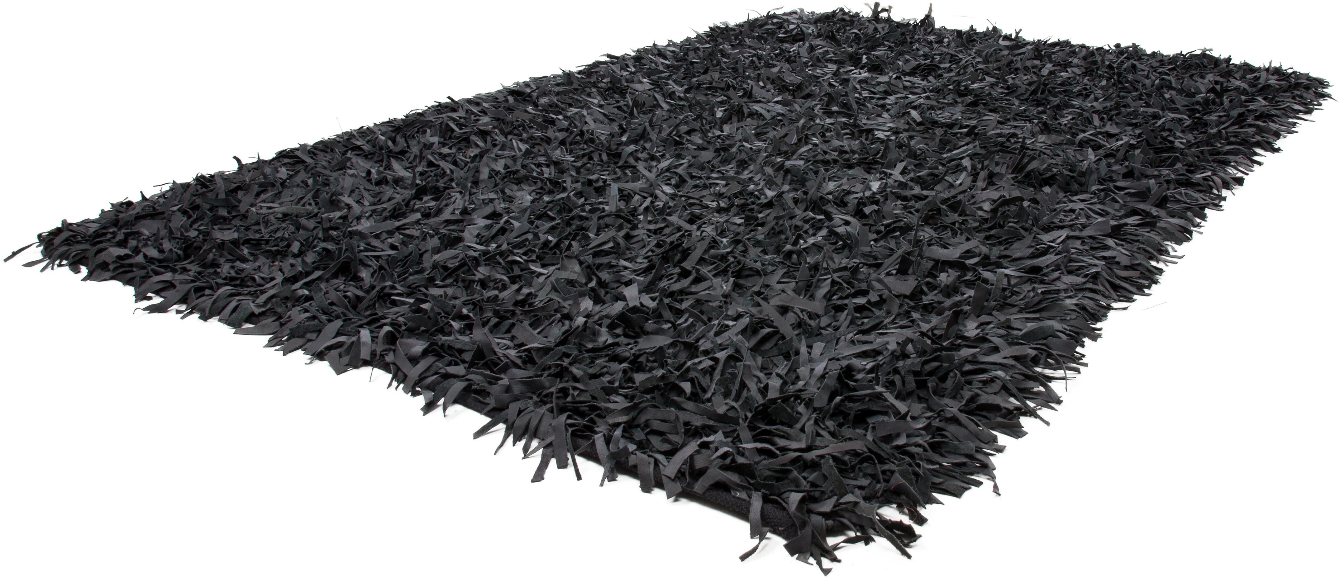 Kayoom Uniek vloerkleed, »Terence 310«, hoogte 50 mm, leer, met de hand geweven - verschillende betaalmethodes