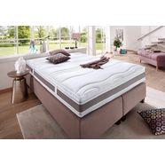 fan exclusiv pocketveringsmatras punktoflex de luxe t natuurlijke bescherming tegen huismijten hoogte 22 cm wit