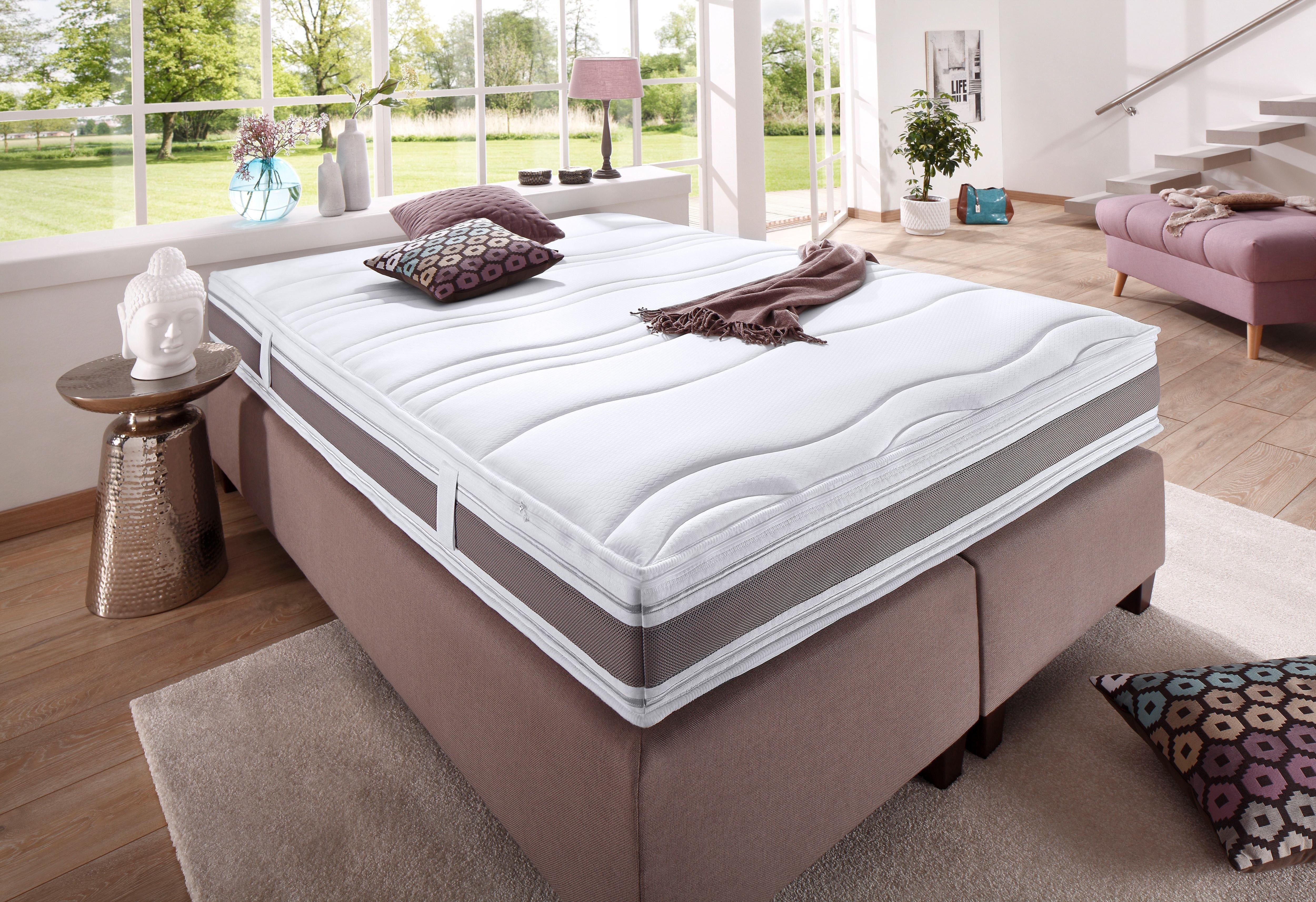 FAN EXCLUSIV pocketveringsmatras Punktoflex de Luxe T Natuurlijke bescherming tegen huismijten hoogte 22 cm nu online bestellen