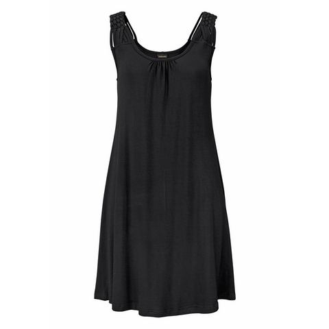 NU 10% KORTING: LASCANA Lang shirt met ronde hals