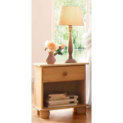home affaire nachtkastje »melody« beige