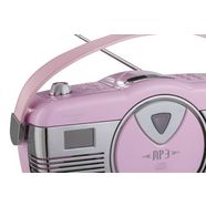 radio-cd-speler rood